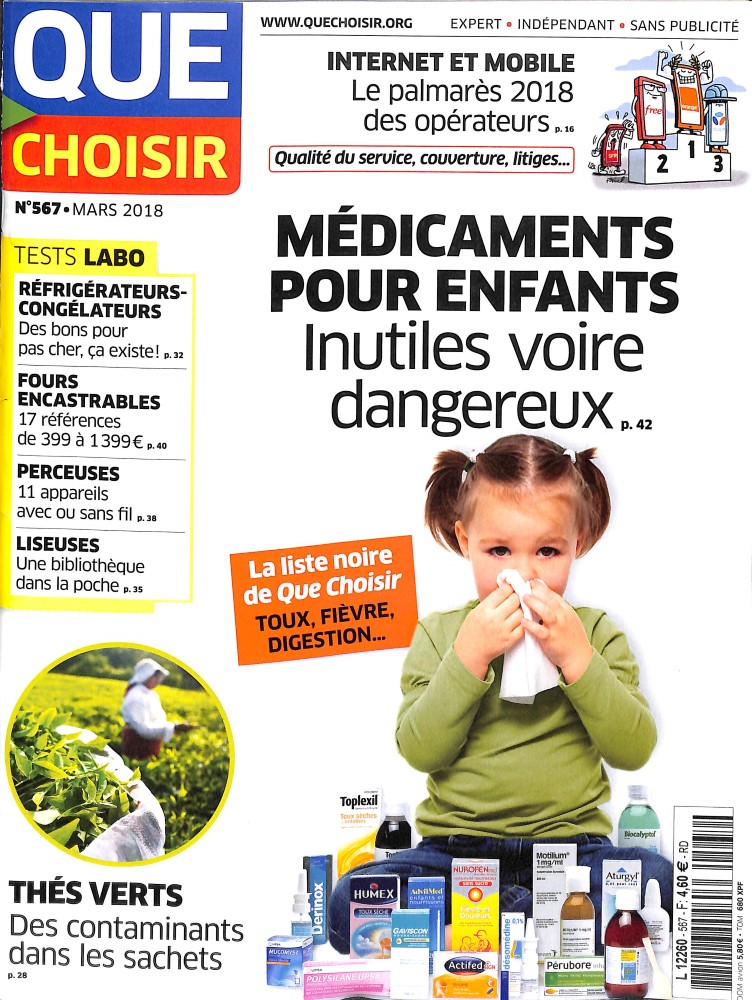 Que choisir N° 569 April 2018