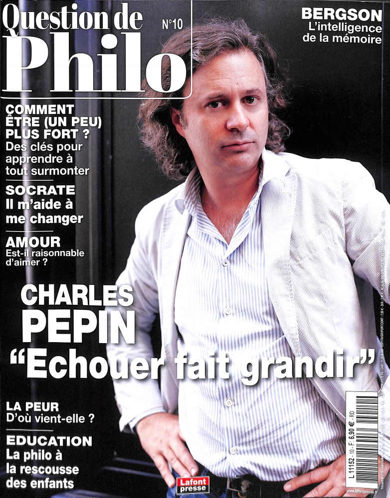 Question de philo N° 15 Septembre 2019