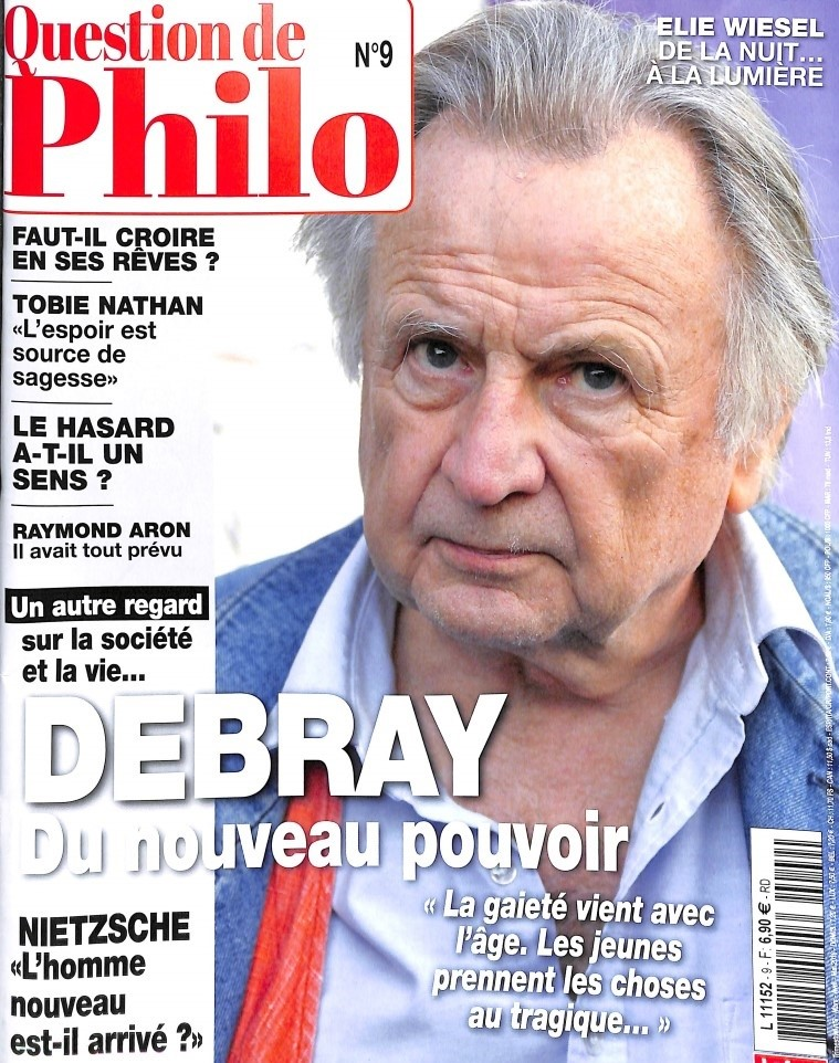 Question de philo N° 9 March 2018