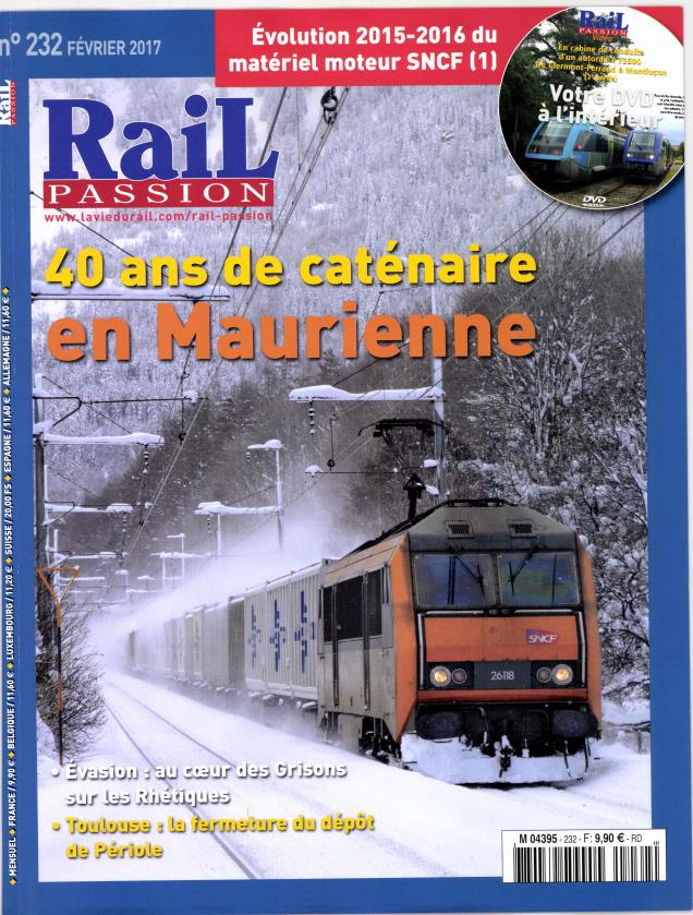 Rail Passion N° 232 Janvier 2017