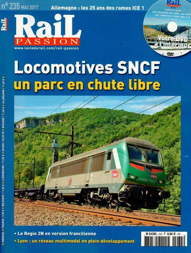 Rail Passion N° 235 Avril 2017