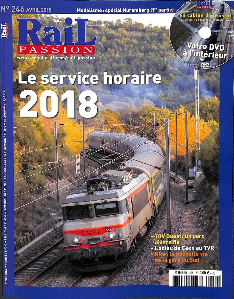 Rail Passion N° 246 March 2018