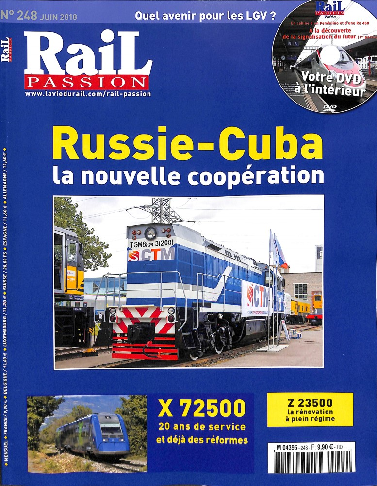 Rail Passion N° 248 May 2018