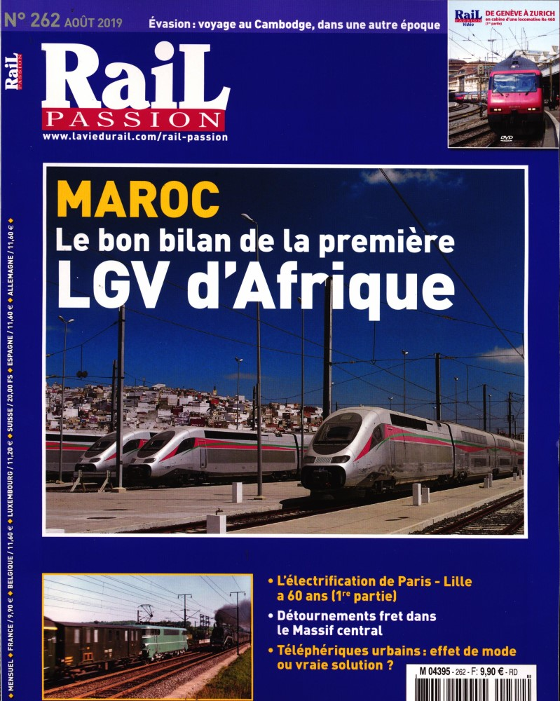 Rail Passion N° 262 Juillet 2019