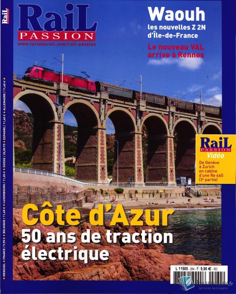 Rail Passion N° 264 Septembre 2019
