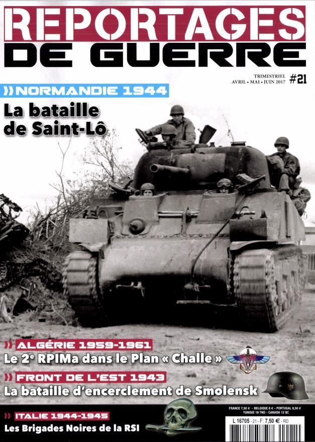 Reportages de guerre N° 21 Mars 2017