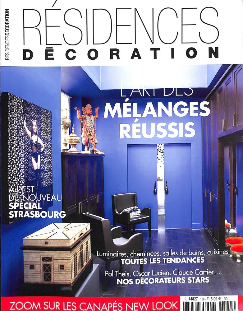 R sidences d coration n 138 abonnement r sidences for Art decoration abonnement
