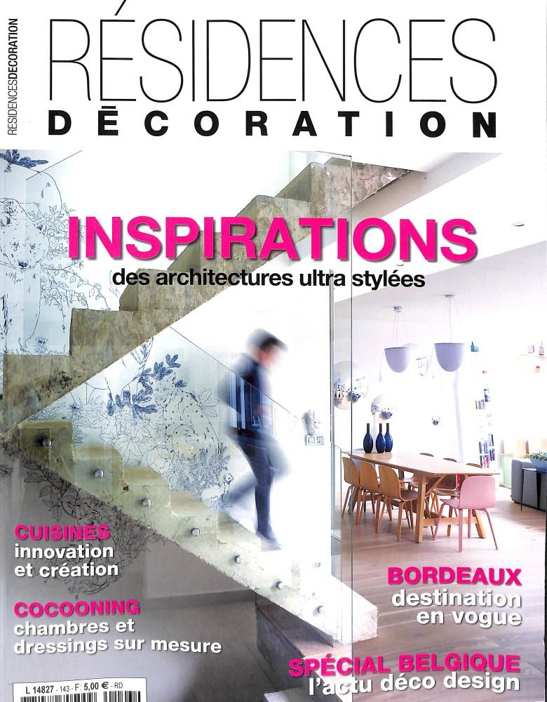 Résidences décoration N° 143 August 2018