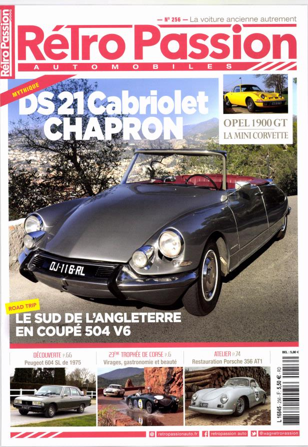 Rétro passion automobiles N° 256 Janvier 2017