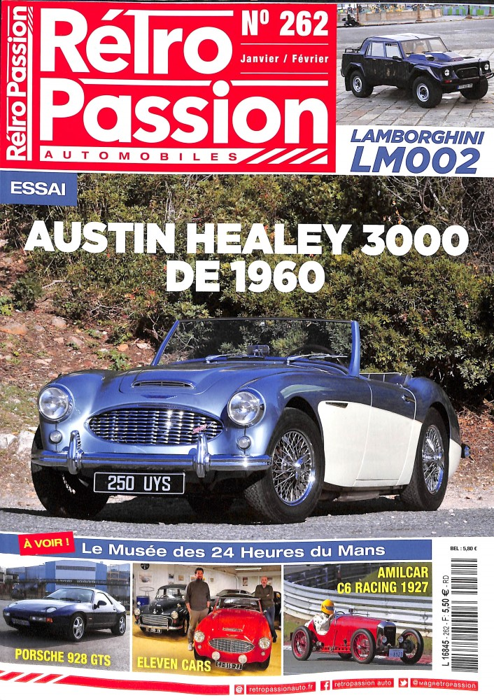 Rétro passion automobiles N° 262 January 2018
