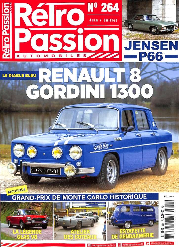 Rétro passion automobiles N° 264 June 2018