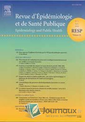 Revue d'épidémiologie et de santé publique