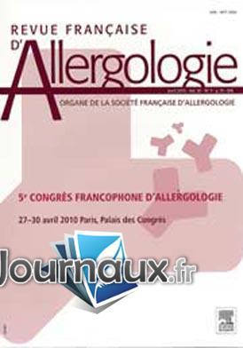 Revue Française d'Allergologie