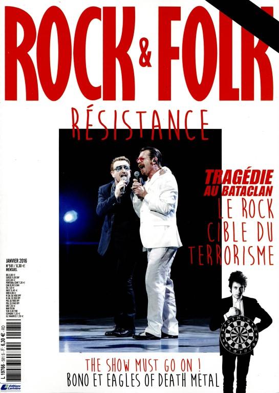 Rock et Folk N° 629 Décembre 2019