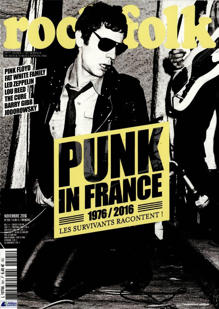 Rock et Folk N° 591 Octobre 2016