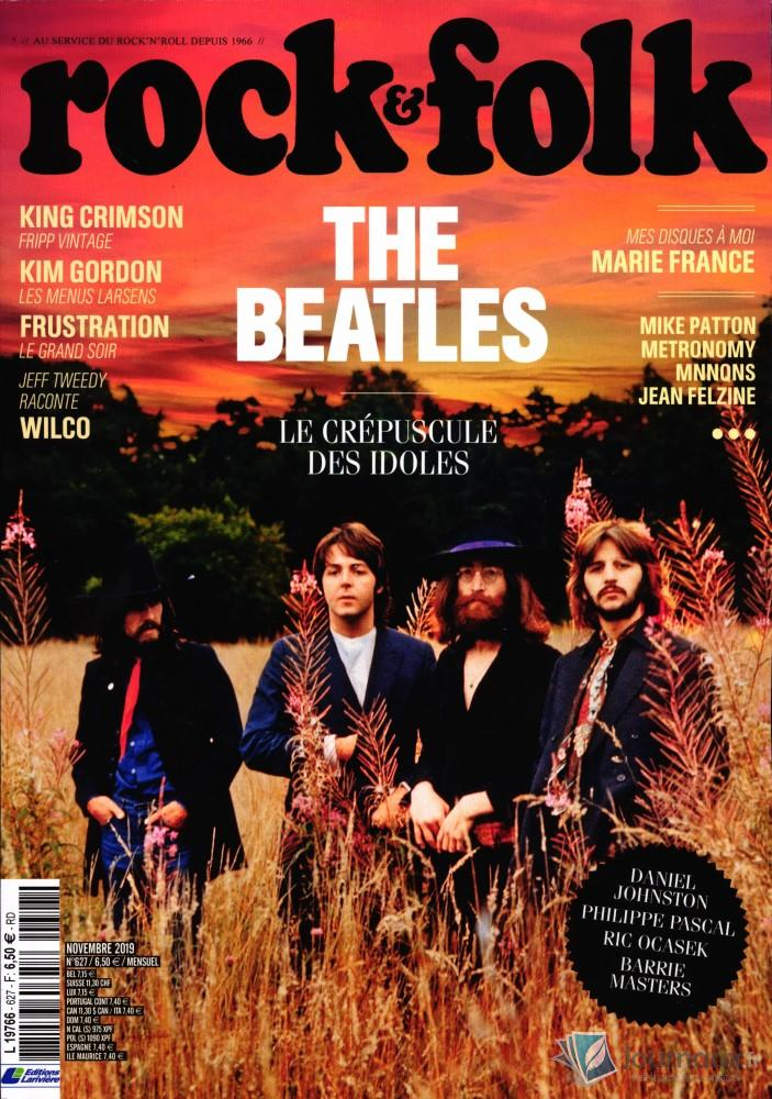 Rock et Folk N° 627 Octobre 2019