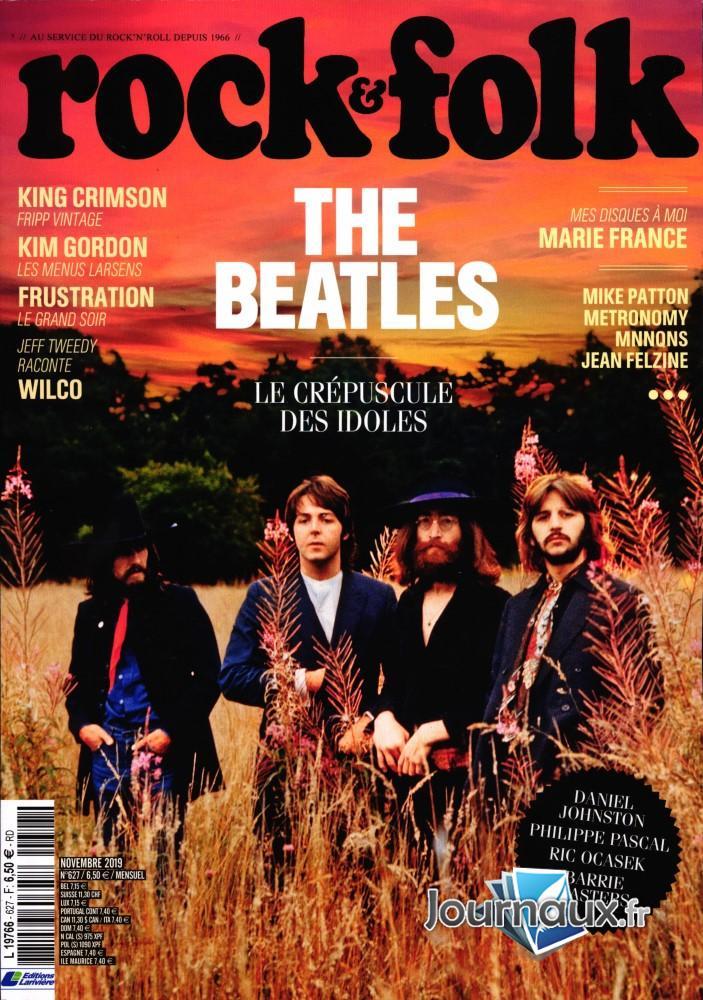 Rock et Folk N° 627 Octobre 2019