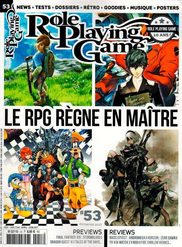 Role Playing Game N° 53 Mai 2017