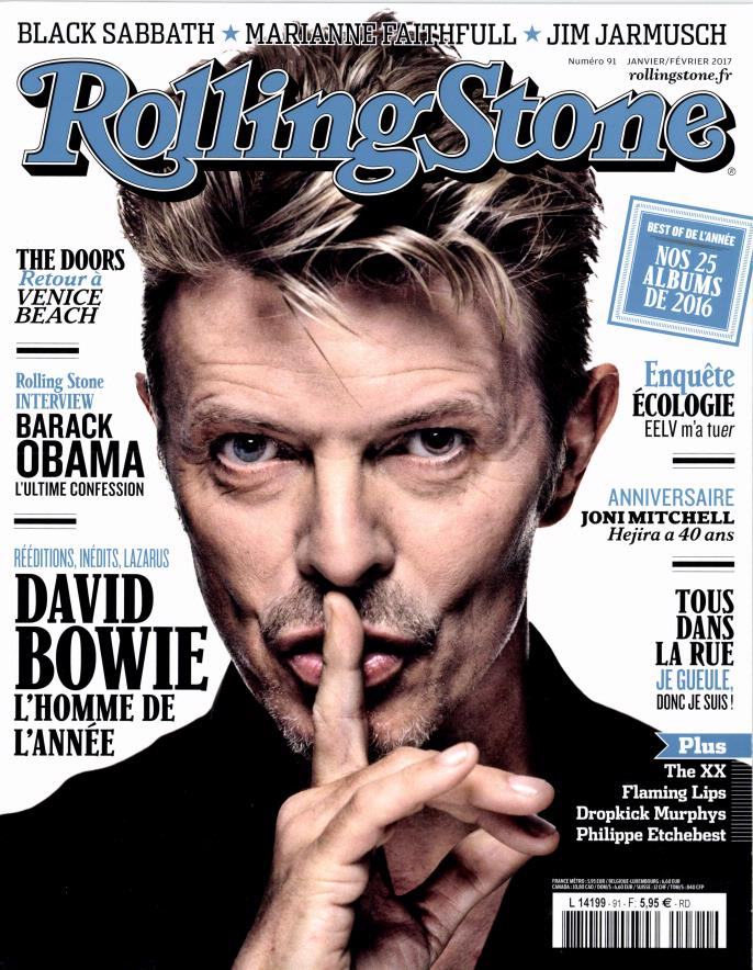 Rolling Stone N° 93 Mars 2017