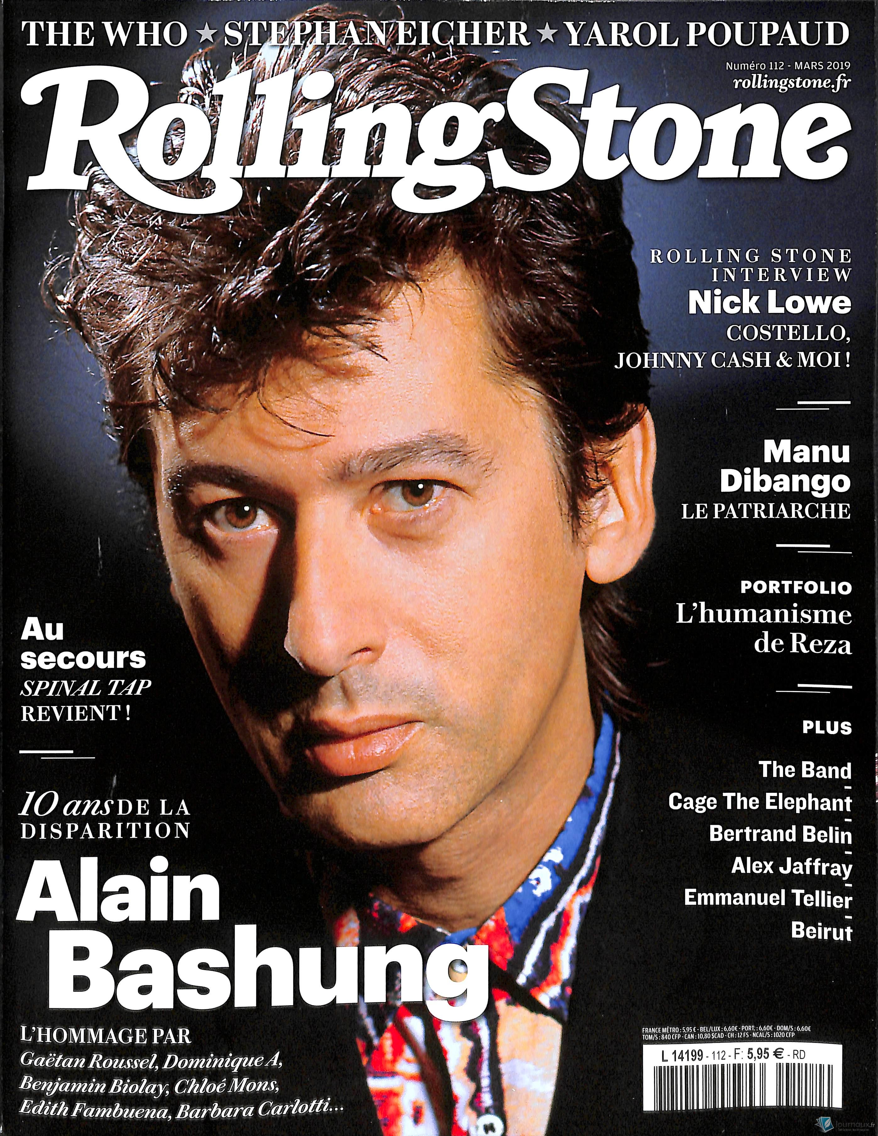 Rolling Stone N° 118 Septembre 2019