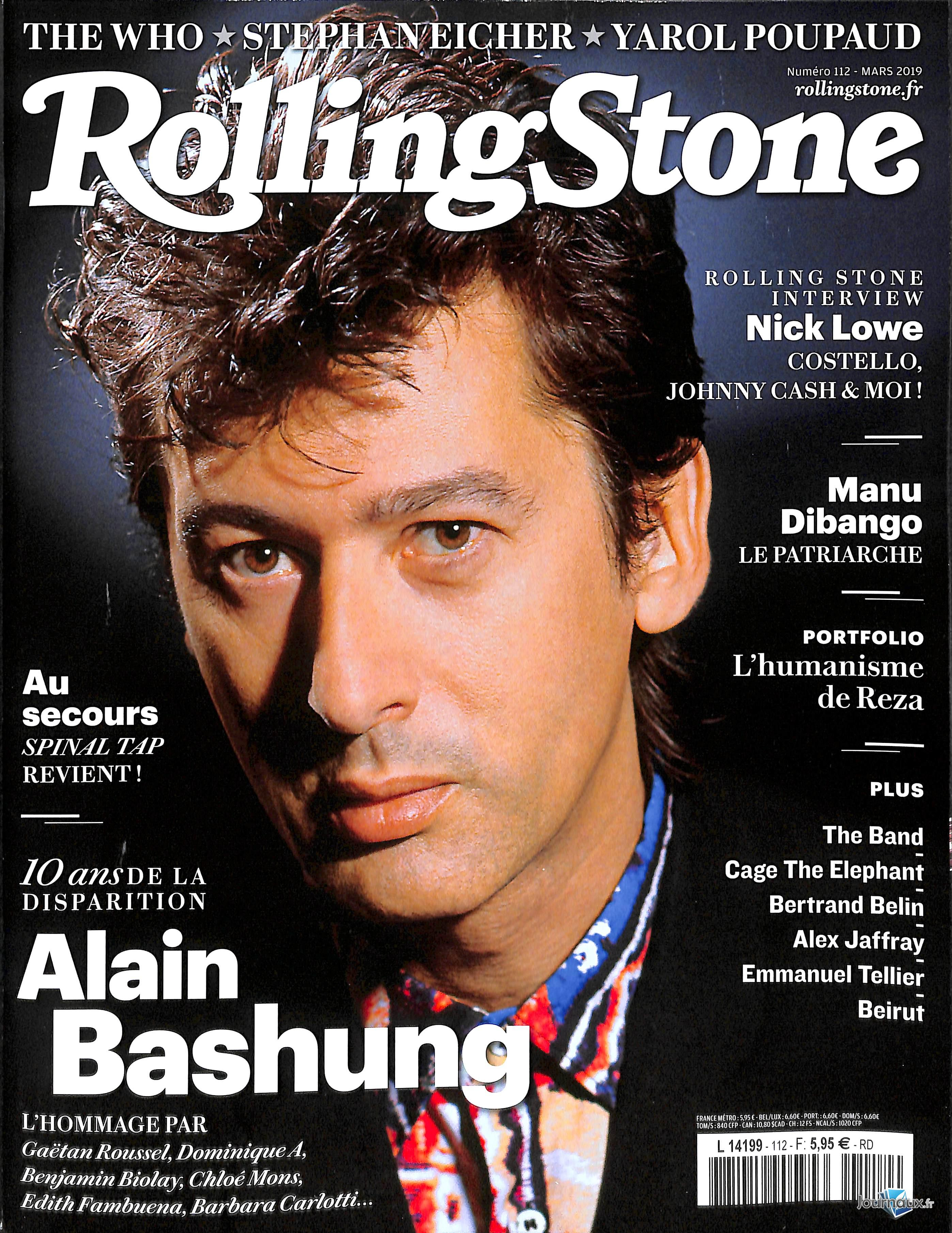 Rolling Stone N° 120 Novembre 2019