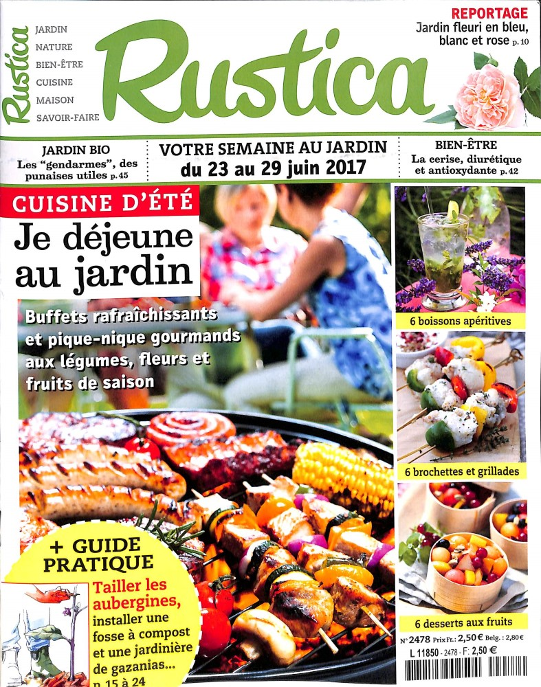 Rustica N° 2478 Juin 2017