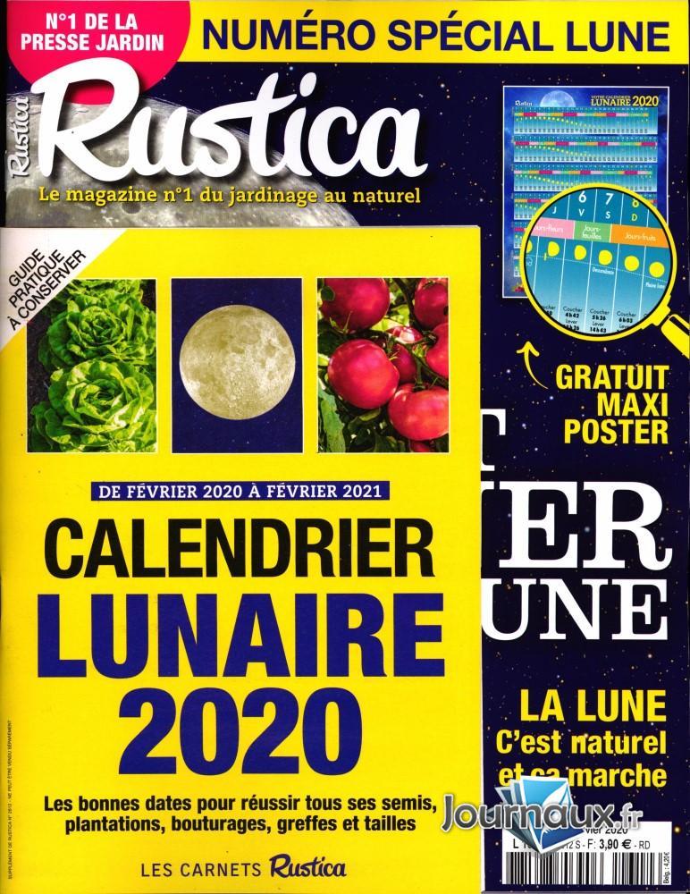 Calendrier Lunaire Fevrier 2021 Rustica Rustica n° 2612 – Abonnement Rustica | Abonnement magazine par