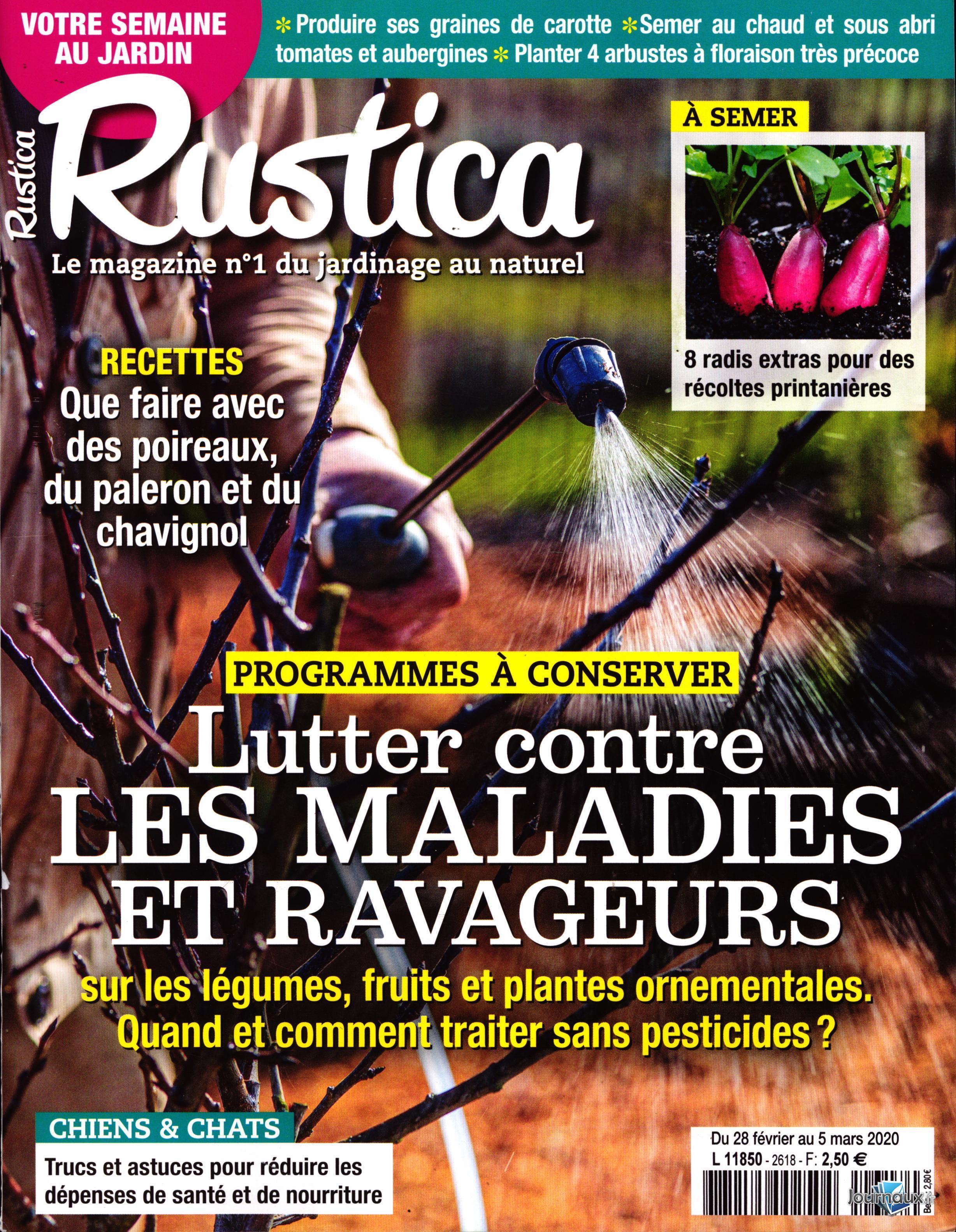 Rustica N° 2621 Mars 2020