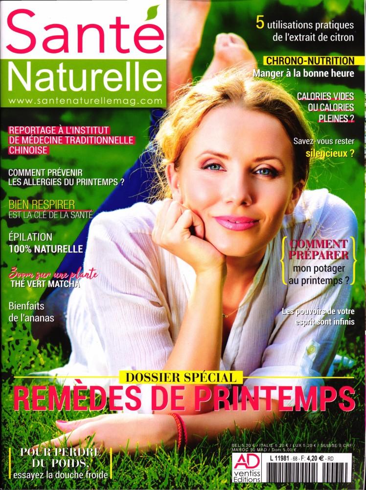 Santé Naturelle N° 68 Mars 2019