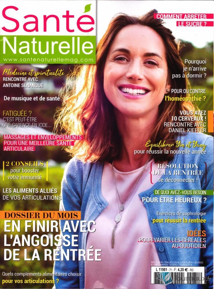 Santé Naturelle N° 71 Août 2019