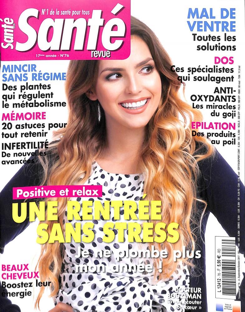Santé Revue N° 76 Août 2017