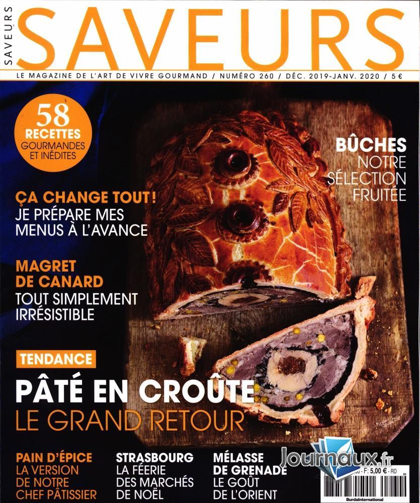 Saveurs N° 260 Novembre 2019