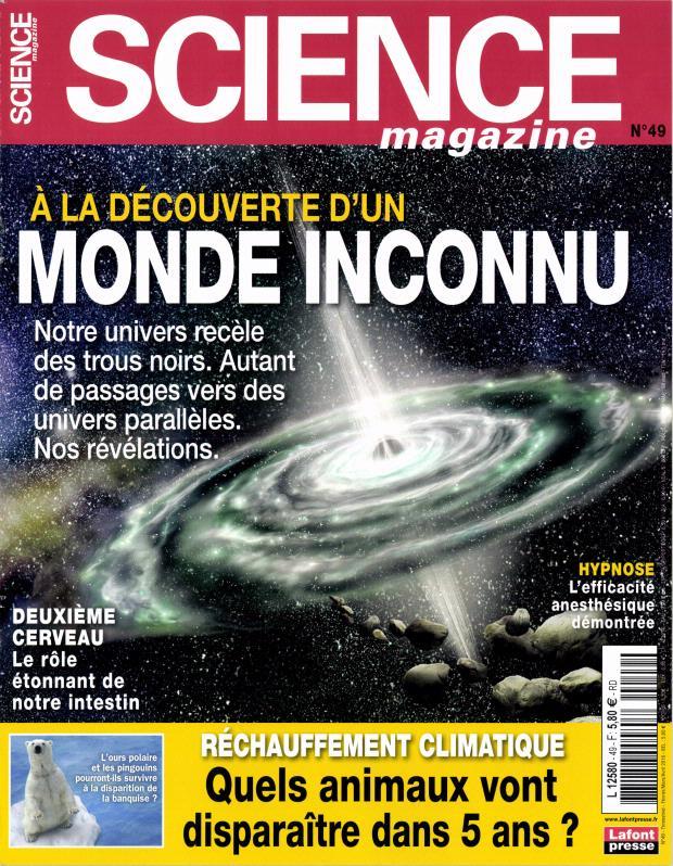 Science Magazine N° 64 Octobre 2019
