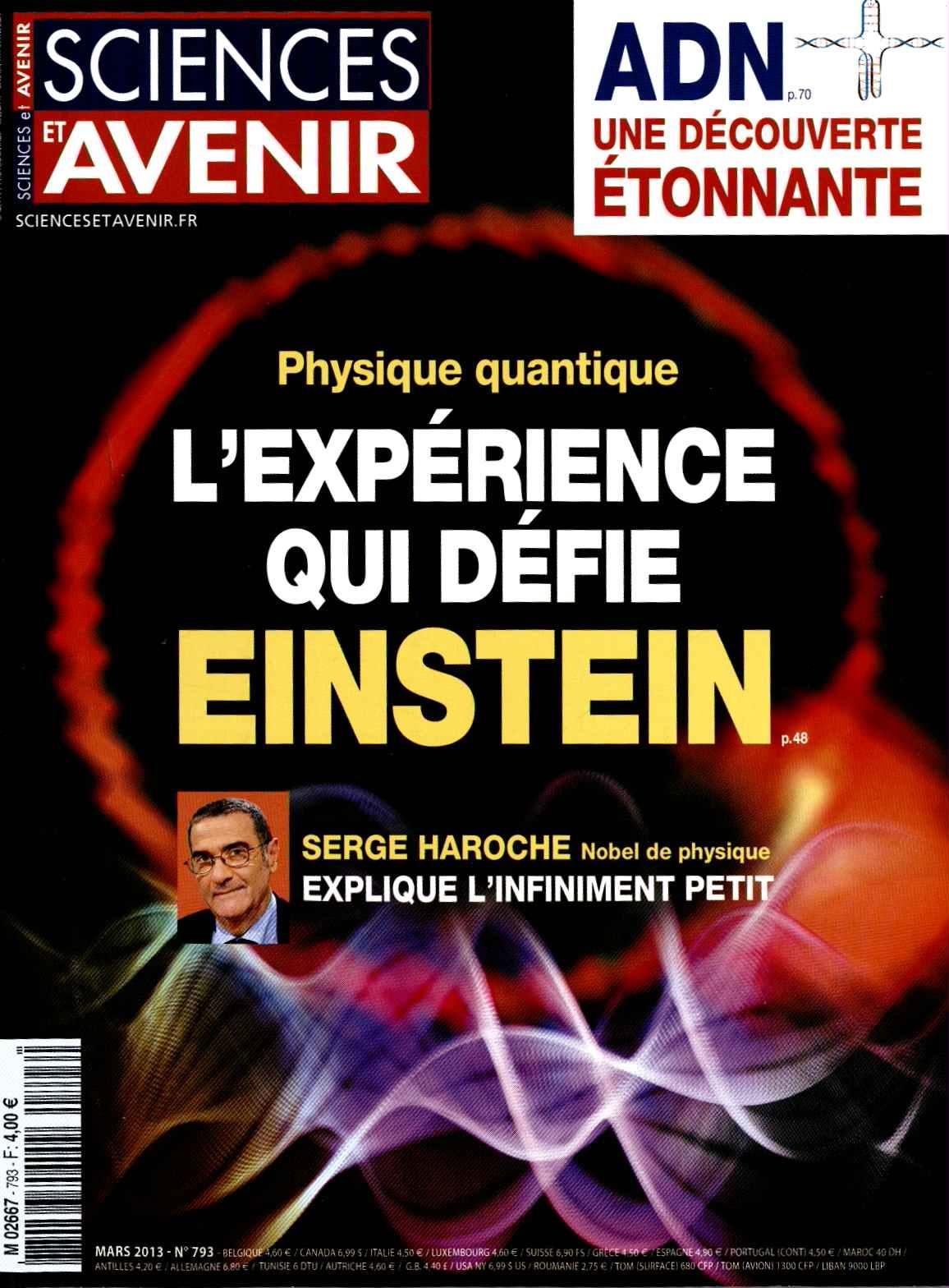 Sciences et Avenir N° 877 Février 2020