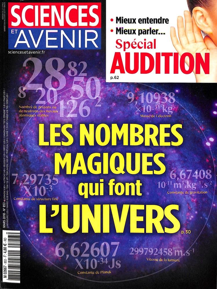 Sciences et Avenir N° 853 February 2018