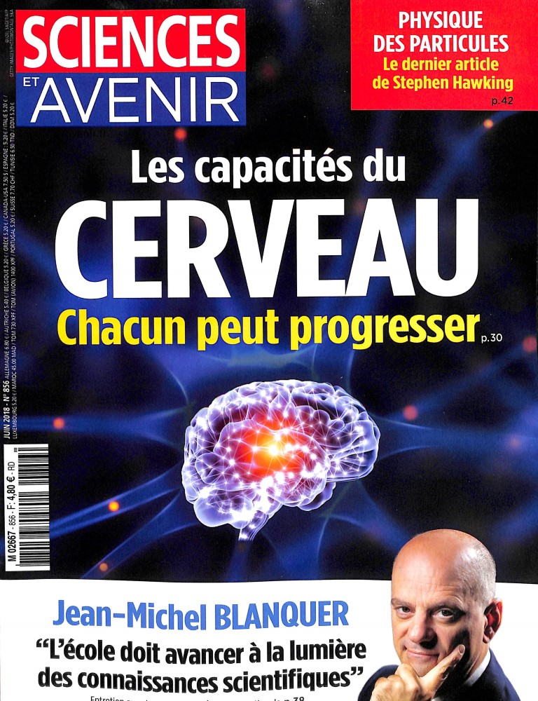 Sciences et Avenir N° 856 May 2018