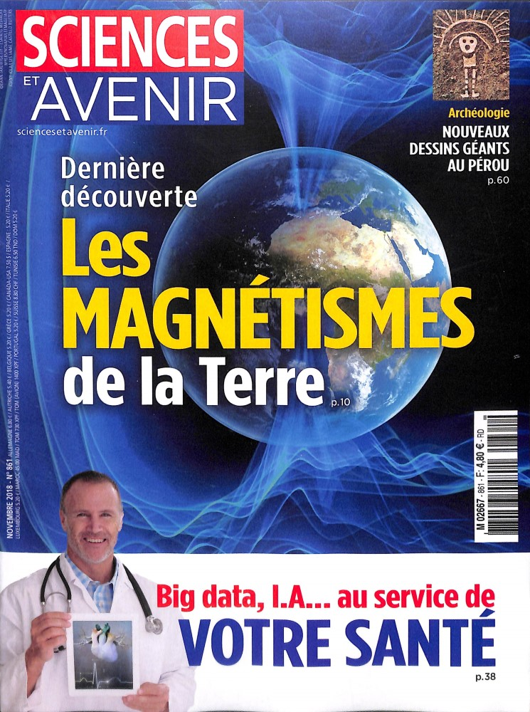 Sciences et Avenir N° 862 November 2018
