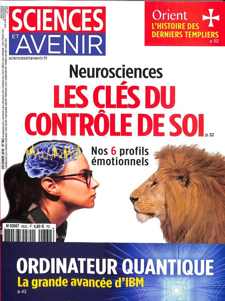Sciences et Avenir N° 874 Novembre 2019