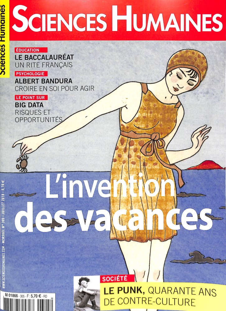 Sciences humaines N° 305 June 2018