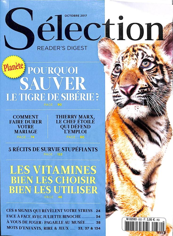 Sélection du Reader's Digest N° 832 Septembre 2017
