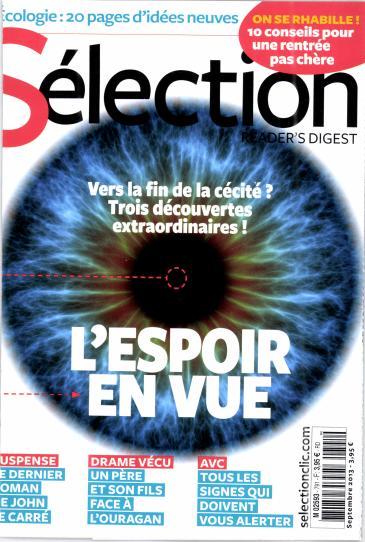 Sélection du Reader's Digest N° 854 Novembre 2019