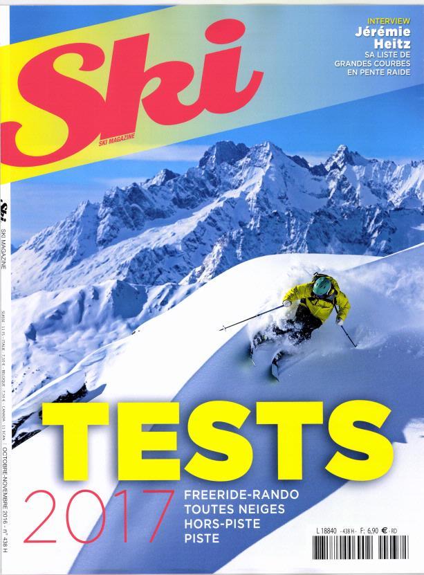 Ski magazine N° 452 Janvier 2019