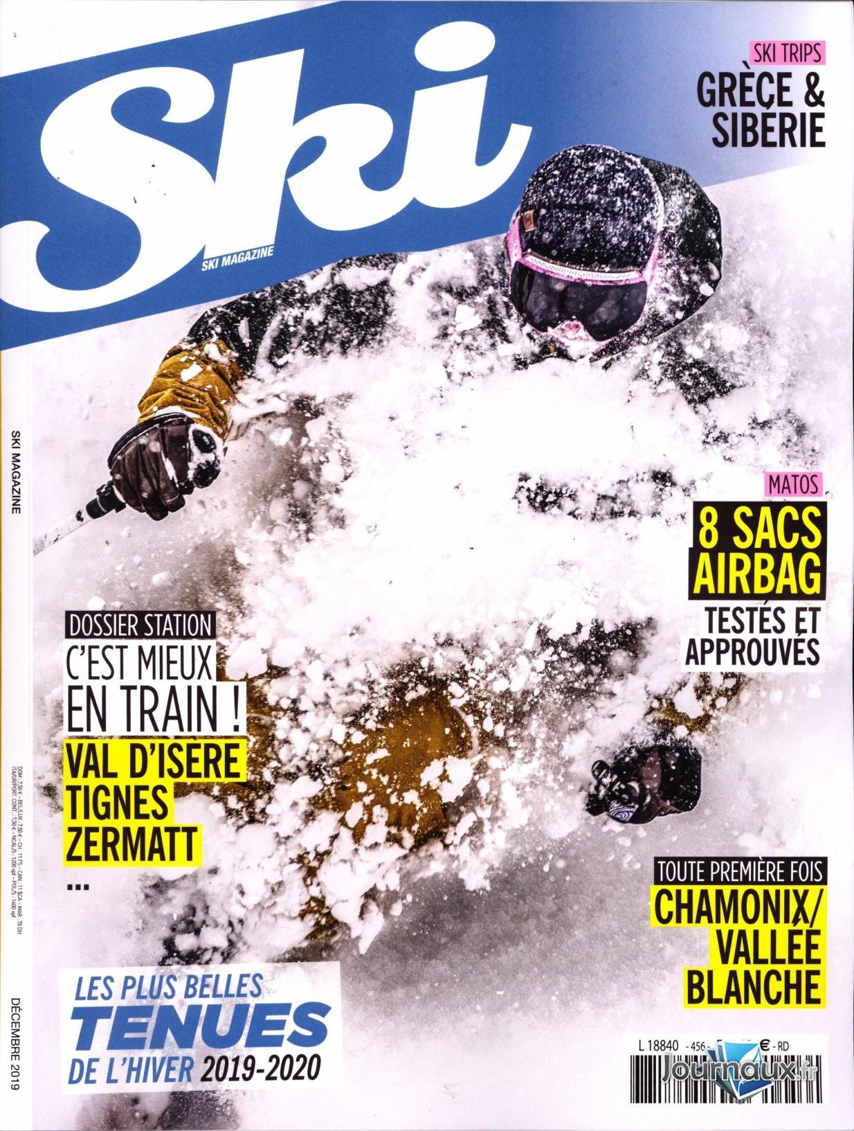 Ski magazine N° 456 Novembre 2019