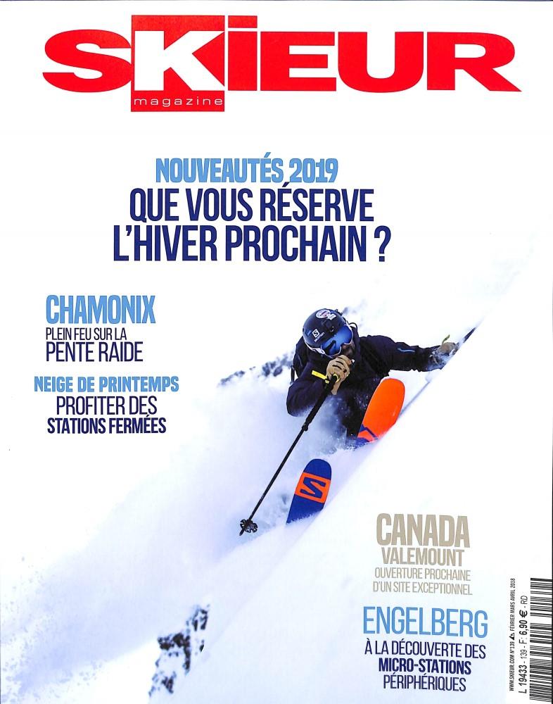 Skieur Magazine N° 142 October 2018