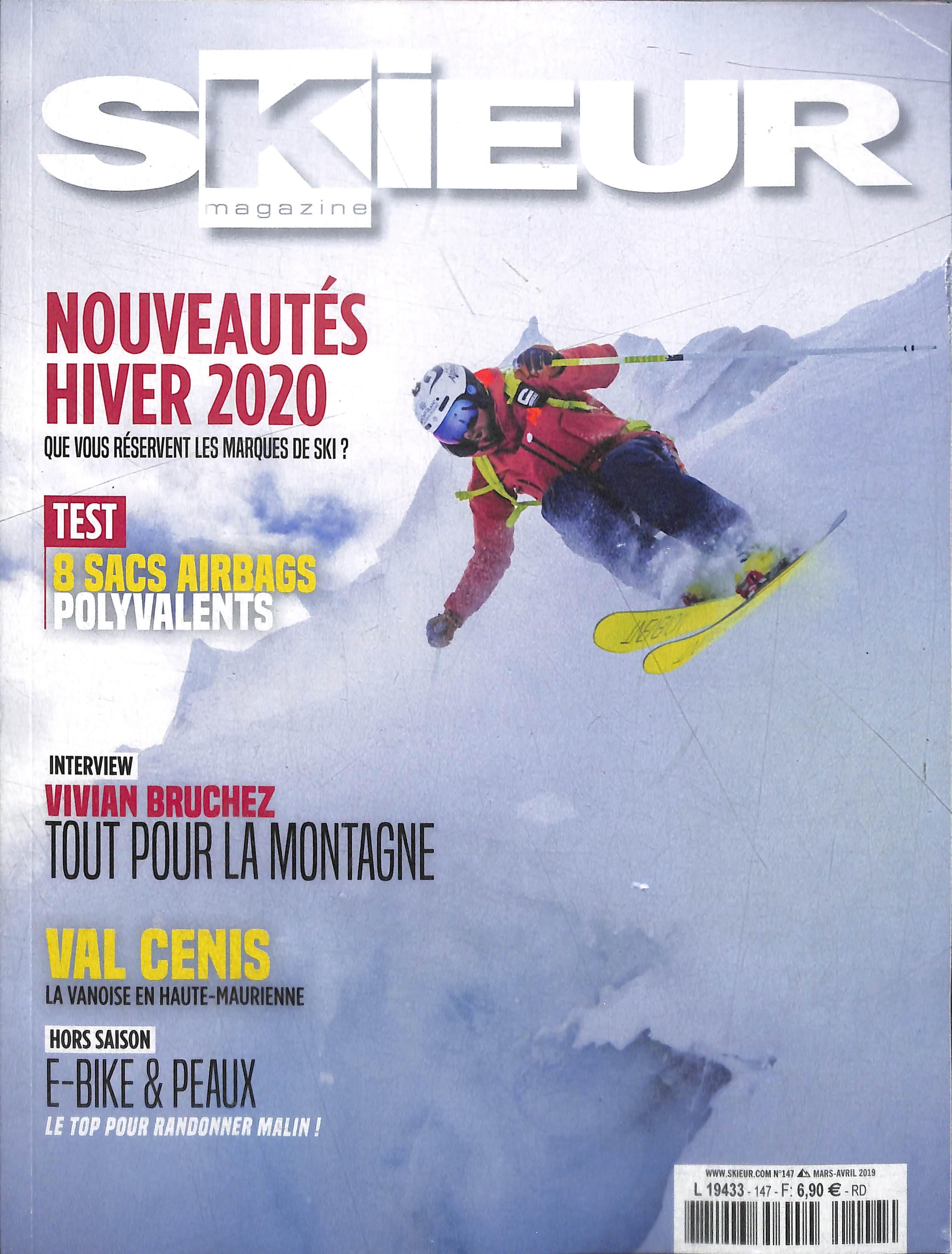 Skieur Magazine N° 147 Mars 2019