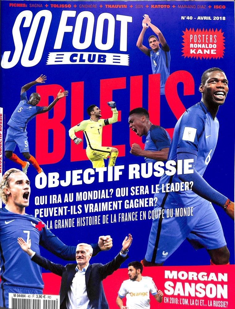 So foot club N° 40 March 2018