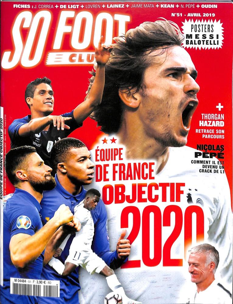 So foot club N° 51 Avril 2019