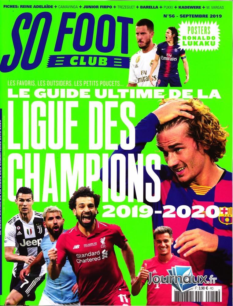 So foot club N° 57 Octobre 2019