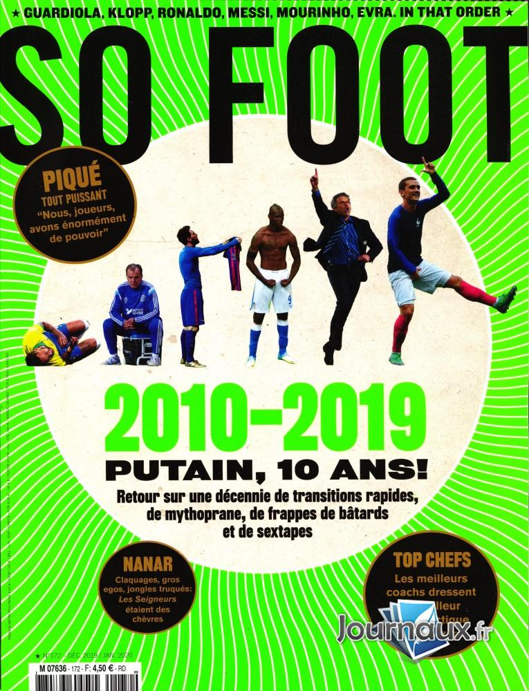 So foot N° 172 Décembre 2019