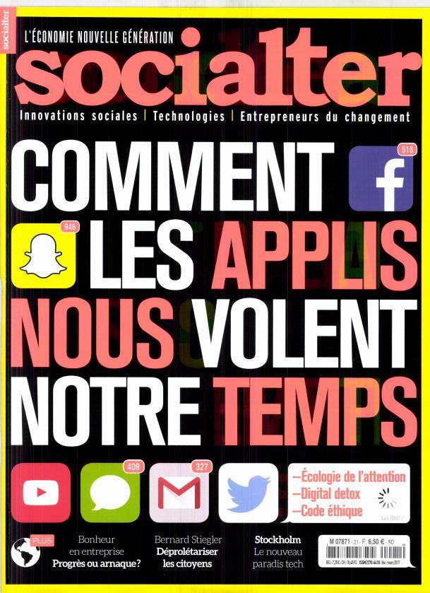 Socialter N° 21 Février 2017